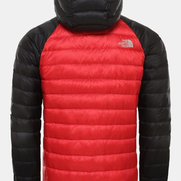 The North Face Mens Trevail Down Hoodie Tnf Red/Tnf Black