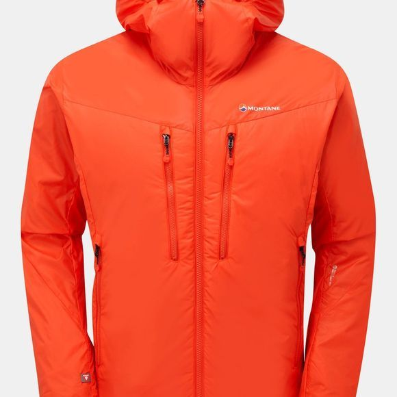 Montane Mens Flux Jacket Firefly Orange