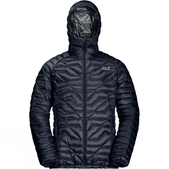 Jack Wolfskin Mens Argo Supreme Jacket Night Blue