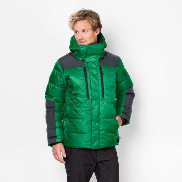 Jack Wolfskin Mens The Cook Jacket Forest Green