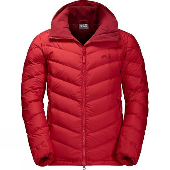 Jack Wolfskin Mens Fairmont Jacket Ruby Red