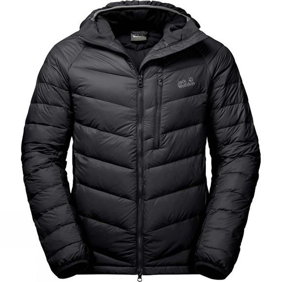 Jack Wolfskin Mens Neon Jacket Black
