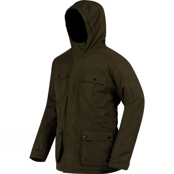 Regatta Mens Penley Jacket Dark Khaki