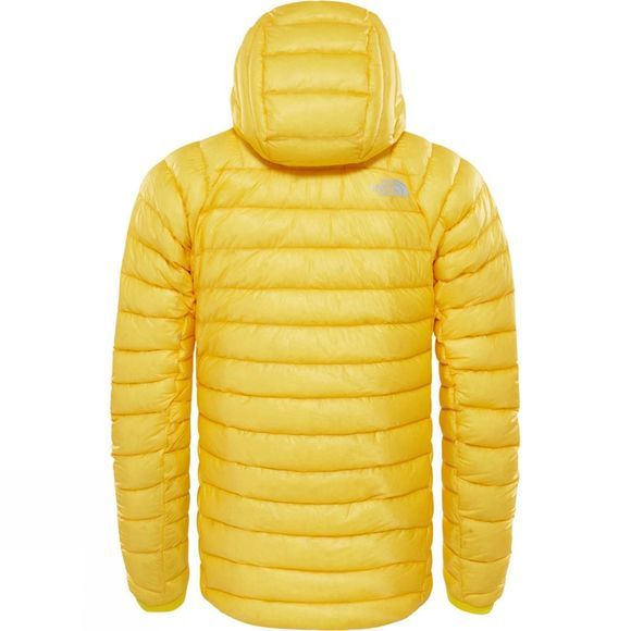 The North Face Mens Summit L3 Down Hoodie  Canary Yellow