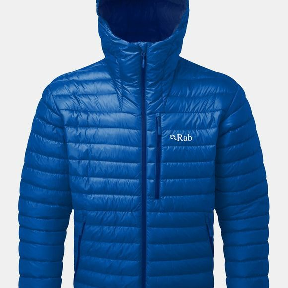 Rab Mens Microlight Alpine Jacket 2018 Celestial/ Deep Ink