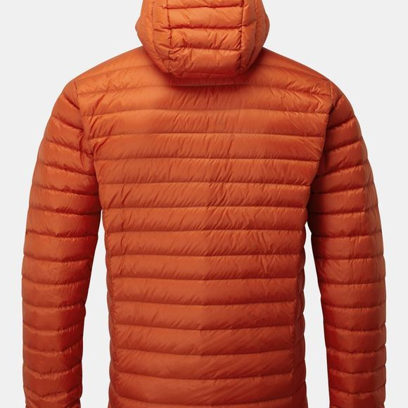 Rab Mens Microlight Alpine Jacket Firecracker / Red Clay