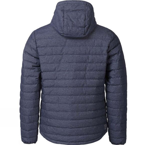 Ayacucho Mens Himalaya Down Hooded Jacket Denim Navy