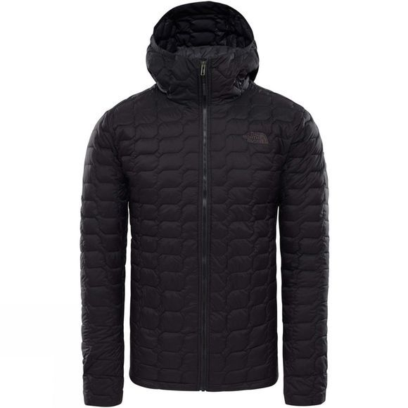 The North Face Mens Thermoball Hoodie TNF Black Matt