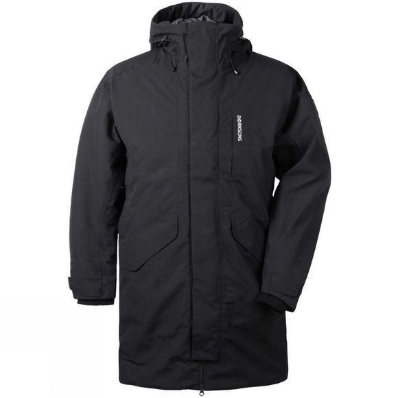 Didriksons Mens Kenny Parka Black