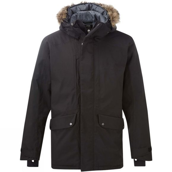 Didriksons Mens Marcus Parka Black