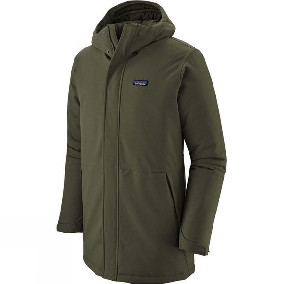 Patagonia Mens Lone Mountain Parka Alder Green