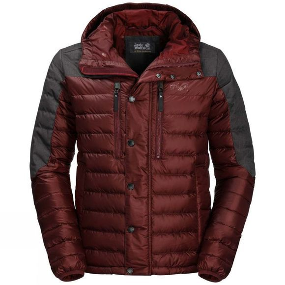 Jack Wolfskin Mens Richmond Jacket Redwood