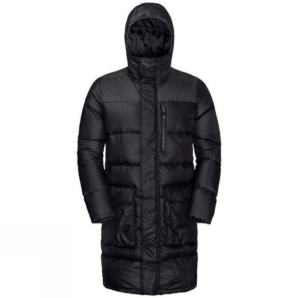 Jack Wolfskin Mens Richmond Coat Black