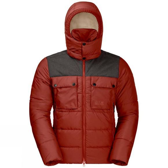 Jack Wolfskin Mens High Range Jacket Mexican Pepper
