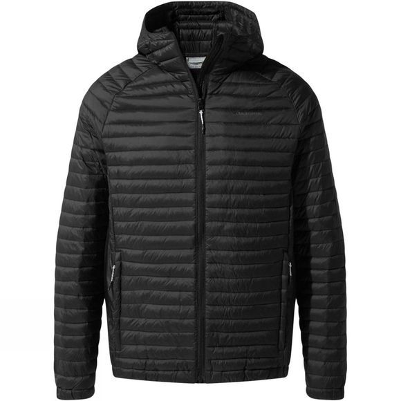 Craghoppers Mens VentaLite Hooded Jacket Black