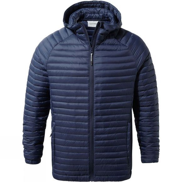 Craghoppers Mens VentaLite Hooded Jacket Blue Navy