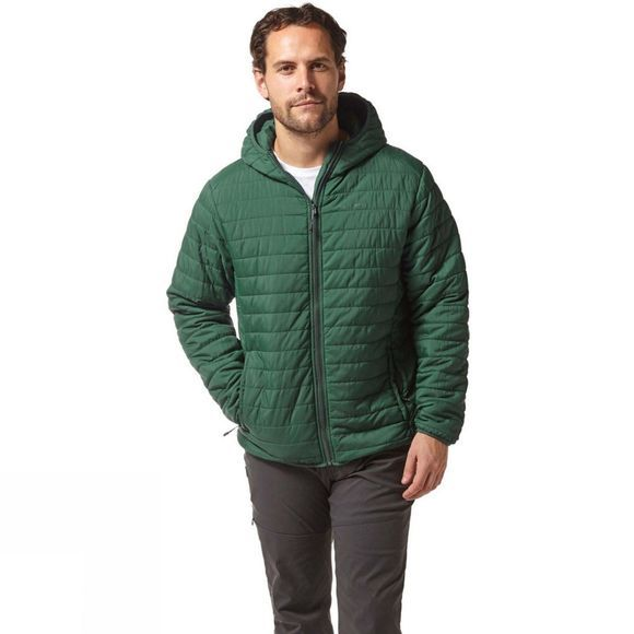 Craghoppers Mens Compresslite III Jacket Mountain Green