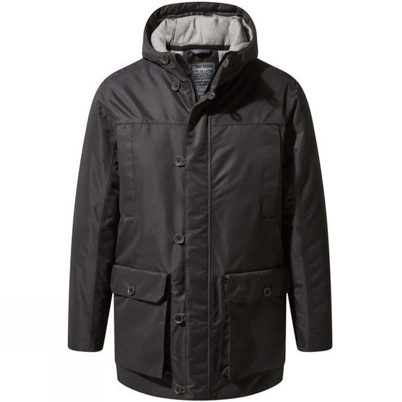 Craghoppers Mens Jura Jacket Black Pepper