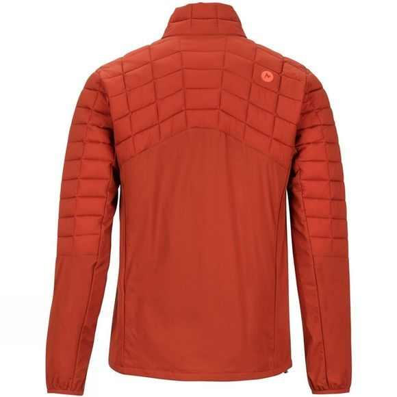 Marmot Mens Featherless Hybrid Jacket Dark Rust