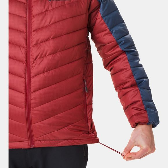 Columbia Mens Horizon Explorer Hooded Jacket Red Jasper/ Dark Mountain