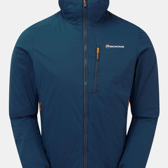 Montane Mesn Fireball Jacket Narwhal Blue/Alpine Red