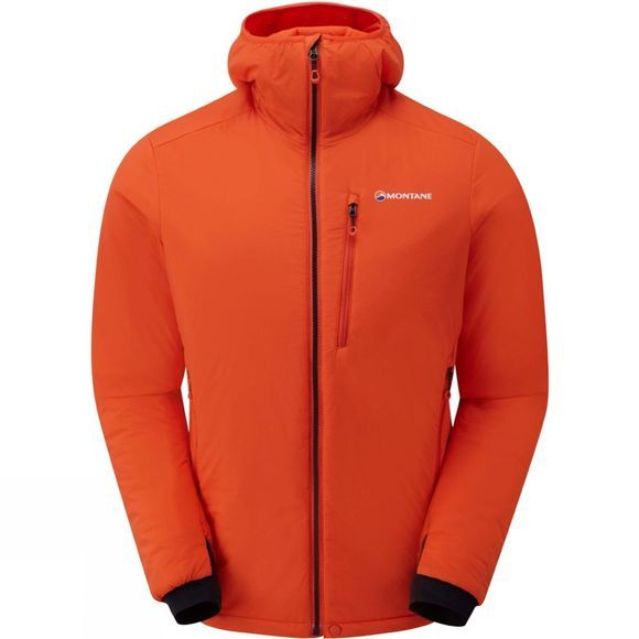 Montane Mens Fireball Jacket Firefly Orange/Black