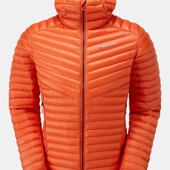 Montane Mens Future Lite Hoodie Firefly Orange/Black