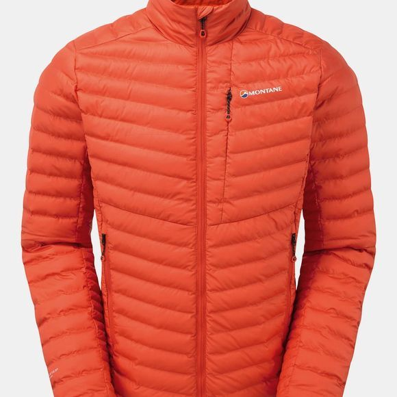 Montane Mens Icarus Micro Jacket Firefly Orange/Shadow