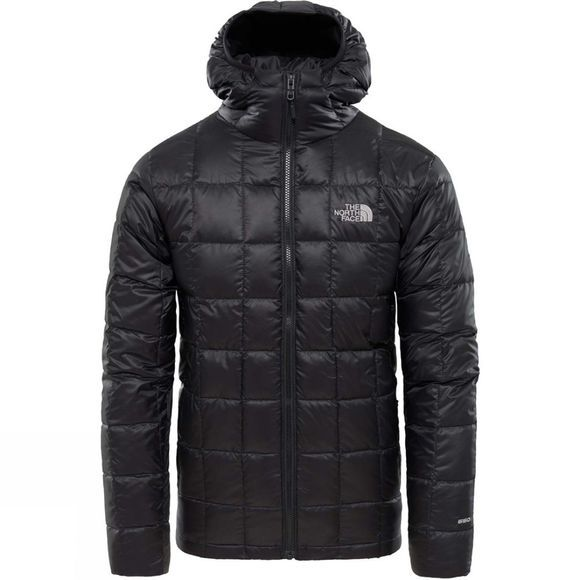 The North Face Mens Kabru Hooded Down Jacket TNF Black