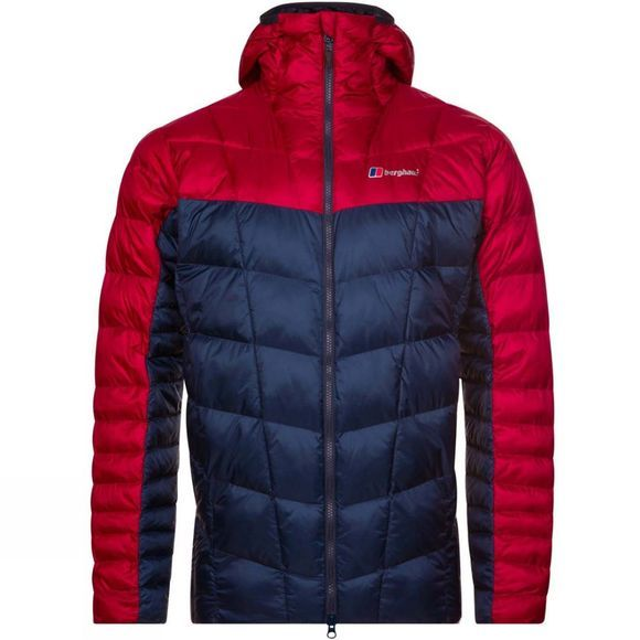 Berghaus Mens Nunat Mtn Reflect Jacket Dusk/Red Dahlia