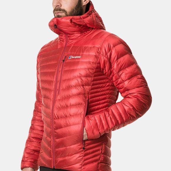 Berghaus Mens Extrem 2.0 Micro Down Jacket Haute Red