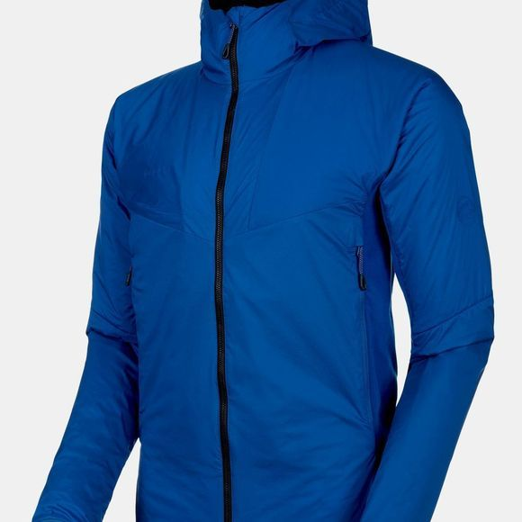 Mammut Mens Rime Light IN Flex Hooded Jacket Surf/Black