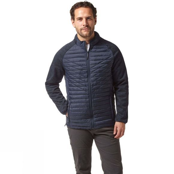 Craghoppers Mens Delta Lite Hybrid Jacket Blue Navy