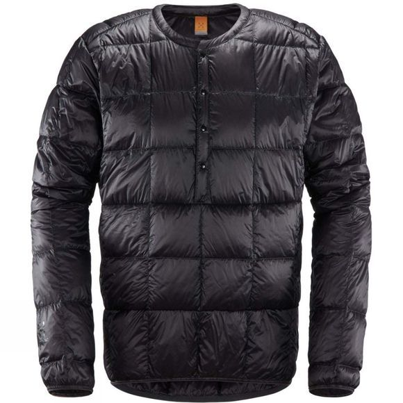 Haglofs Mens Milsbo Down Pull-Over Slate