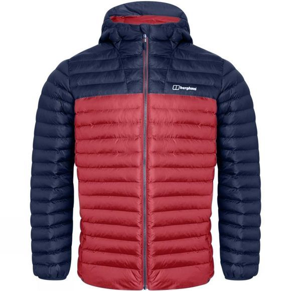 Berghaus Mens Vaskye Jacket Red Dahlia/Dusk