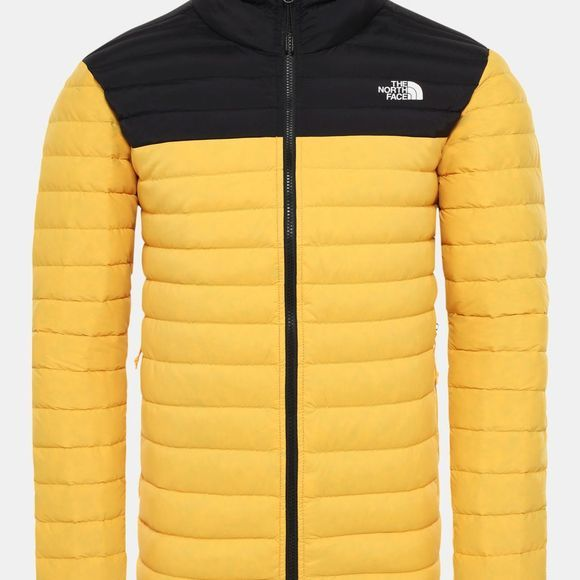 The North Face Mens Stretch Packable Down Jacket Tnf Yellow/Tnf Black