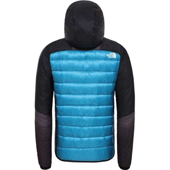 The North Face Mens Impendor Hybrid Down Jacket Acoustic Blue/Tnf Black/Weathered Black