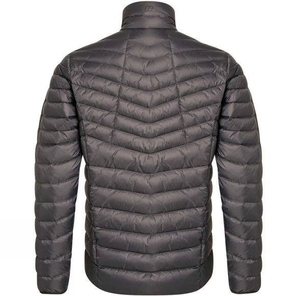 Berghaus Mens Tephra Reflect 2.0 Down Jacket Grey Pinstripe