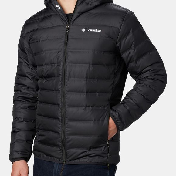 Columbia Men's  Lake 22 Down Hooded Jacket Black