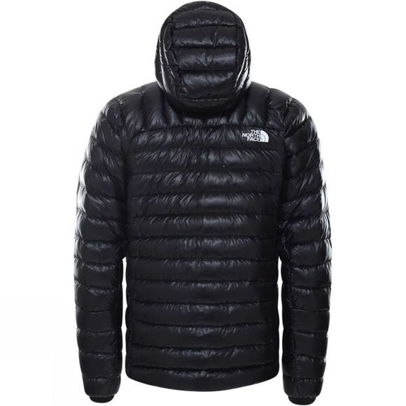 The North Face Mens Summit Hooded Down Jacket TNF Black