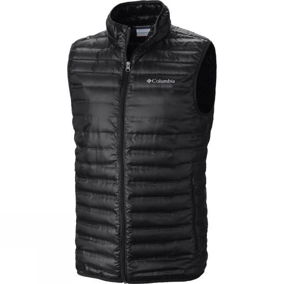 Columbia Mens Flash Forward Down Vest Black