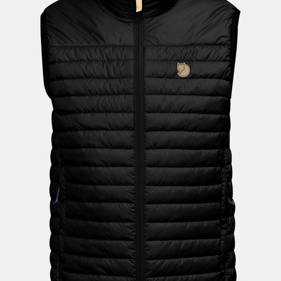 Fjallraven Mens Abisko Padded Vest Black