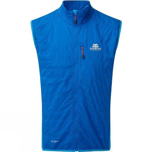 Mountain Equipment Mens Switch Vest Lapis Blue/Finch Blue