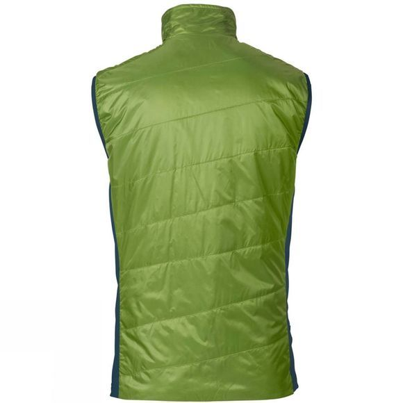 Vaude Mens Freney Hybrid Vest Green Pepper
