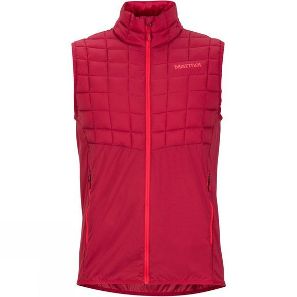Marmot Mens Featherless Trail Vest Sienna Red