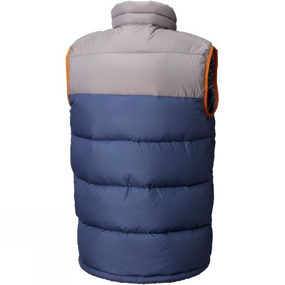 Columbia Mens Pike Lake Vest Boulder/ Dark Mountain