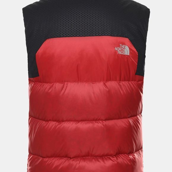 The North Face Mens Nevero Down Gilet Cardinal Red/TNF Black