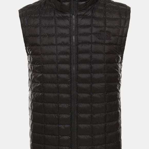 The North Face Mens Thermoball  Eco Packable Gilet Tnf Black Matte