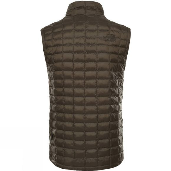 The North Face Mens Thermoball  Eco Packable Gilet New Taupe Green Matte