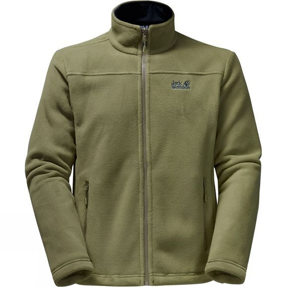 Jack Wolfskin Mens Jasper 3in1 Jacket Wild Lime